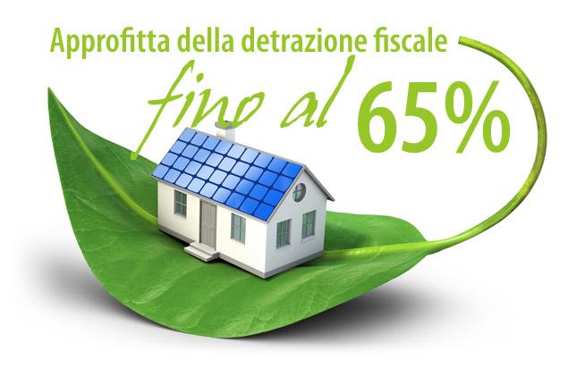 Detrazione Fiscale 65% su tutti gli infissi