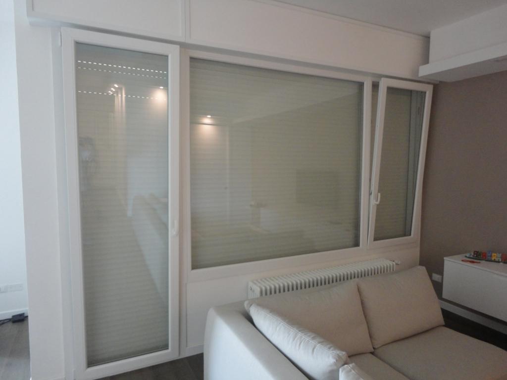 Supporti per tende su finestre in pvc - Tende finestre pvc ...